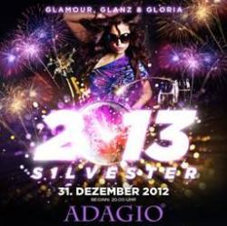Новый год в клубе ADAGIO - Glamour, Glanz & Gloria!
